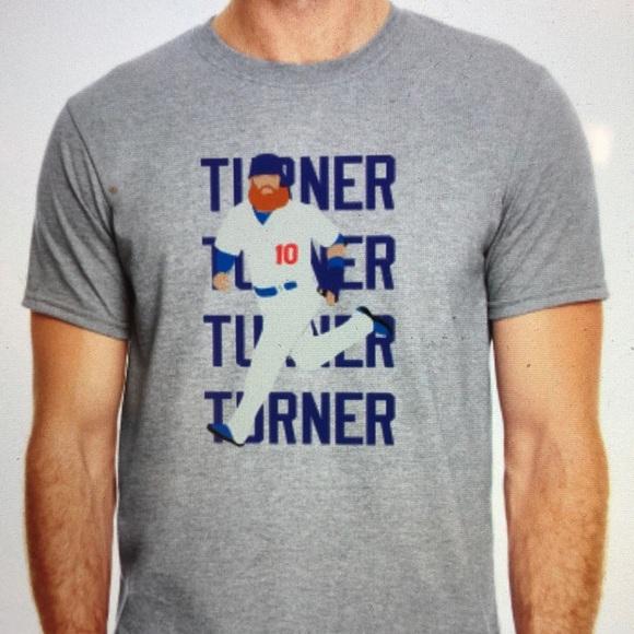 los angeles 158e3 84396 Los Angeles Dodgers Justin Turner Shirt NWT